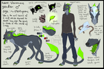 VENOMOUS - reference sheet [2013] by Green-EyedGhost