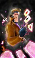 Gambit-Master of Cards by DonnyGreenBoy