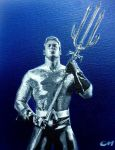 Aquaman by Stencils-by-Chase