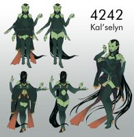 4242 - Kal'Selyn Design by Weissidian