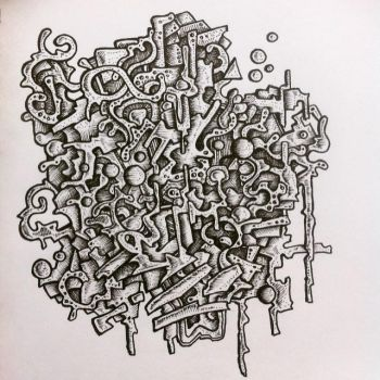 Abstract 3d doodle by NikitaGrabovskiy