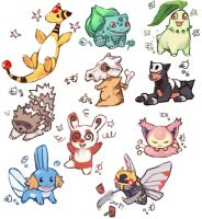Pokemon collage 1 by emlan