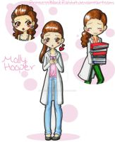 Molly Hooper by PrincessBlackRabbit