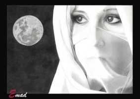 YOU OR THE FULL MOON?? by emaghrabi