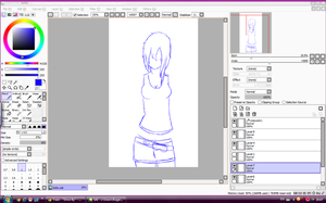WIP: New OC, again XD by TeenageLover101