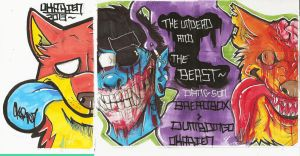 The Undead and The Beast by Dingo4graff