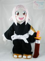 Bleach: 2ft Yachiru Plushie by LiLMoon
