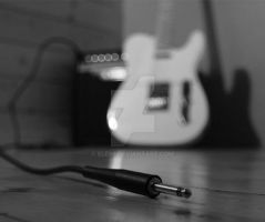 Fender Telecaster and amp by eLe89