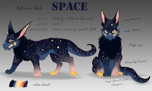 Reference Sheet - Space by Taliy4h