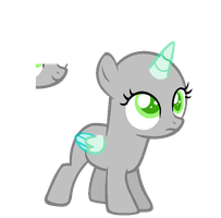 Uncertain Filly --BASE-- by iVuiAdopts