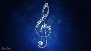 Treble Clef by paranoia123