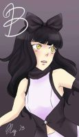 Keychain Design: Blake [RWBY] by XWorld-DOMInationX