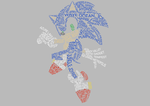 Modern Sonic Typography by Anubins