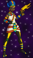 Space Egyptian by DaBrandonSphere