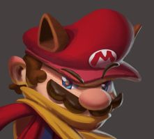 One face a day #5/365.  Mario by Dylean
