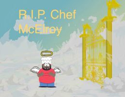 Chef McElroy In Heaven by darthraner83