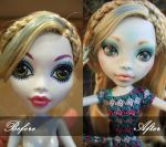 Lagoona Blue Repaint Before/After by sugar-glowlights