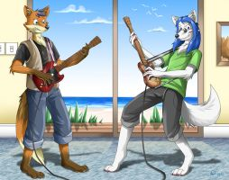 Rock your fox off by Pelboy