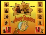 Angry Beavers Charms by ChibiFam