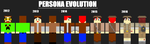 Evolution Of My Persona Part 2 by BaryMiner