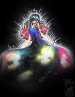 Wearing the Galaxy by HyperChronic
