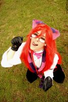 Cheshire Grell in Wonderland by Telperion-Photo