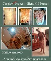 Cosplay(ween) Process: Silent Hill Nurse by ArantxaCosplayer