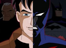 DCAU Duality - Terry McGinnis/Batman by OptimumBuster
