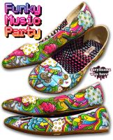 Funky Music Party by marywinkler