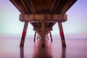 Jax Beach Pier by RoyalImageryJax