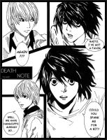 Death Note: Spanking by Alkatrashia
