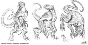 Creature Design: Concepts 1-3 by AustenMengler