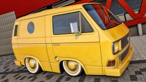 Volkswagen T3 Transporter by SamCurry