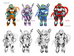 TMNT : The Future by saintcosevent