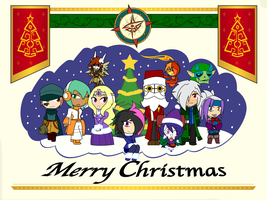 Merry Christmas 2014 by Dragon-FangX
