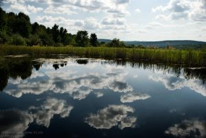 clouds reflected by Echo1034