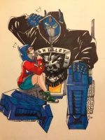 Hoodie Switch - Me and G1 Optimus by OokamiWarrior1234