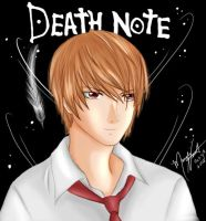 Death Note Light by SassyLilPanda