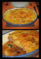 Oven Dish Mashed Potatoes by Snowflaky