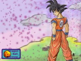 Goku wallpaper by ArGe