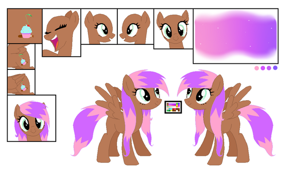 Brownie Surprise Reference Sheet [basic] by BrownieAlexia