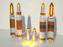 Ammo Types: Explosive Luxx Crystal Bullets by KillSwitchWes