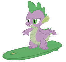 Surfing Spike by Assiel