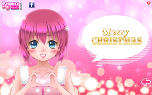 Happy Holidays from Kairi by RussellMimeLover2009