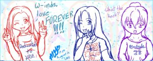 w-inds. Love Forever by Toadychan