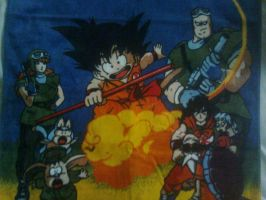 Toalha de praia dragon ball parte 2 by aninhachanhp