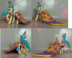 princess coronation Celestia by SanadaOokmai