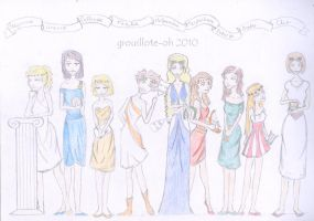 Muses by Grouillote-oh