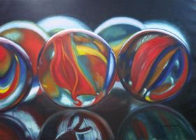 marbles by xavierflorensa