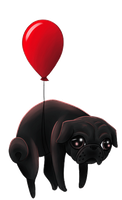 Free to Use Animated Pug by shademist030